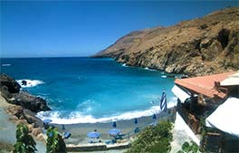 Beach webcam Sfakia, Kreta